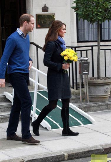 英王妃怀孕首亮相