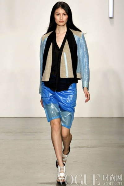 巴黎时装周2012 2012米兰时装周 范冰冰巴黎时装周 纽约时装周透明装图片