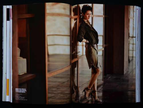 服饰与美容 张悦拍摄模特王潇图片