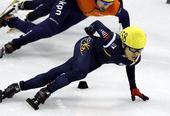 图文:短道速滑世界杯上海站赛况 郭润起领衔