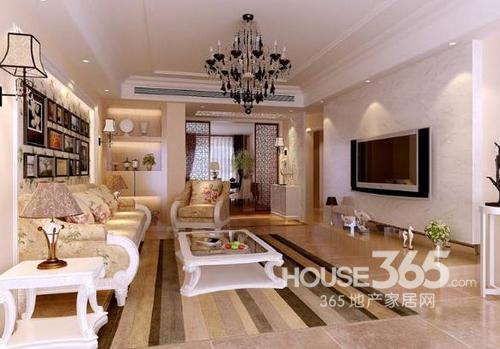 现代简欧家装效果图 大气卧室客厅各十款连连看