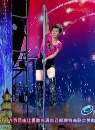 《中国达人秀第四季》独家策划 大妈逆袭潮流舞