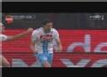 意甲进球视频-那不勒斯4连击 慢镜回放疑似越位