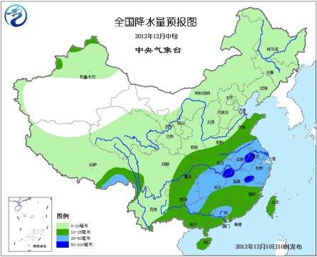中新网12月11日电中央气象台今天发布最新天气预报,未来三天,我国中东部大部地区气温将逐渐回升,同时,南方地区多阴雨天气。今天早晨到上午,西南地区东部江汉江淮等地有雾霾。