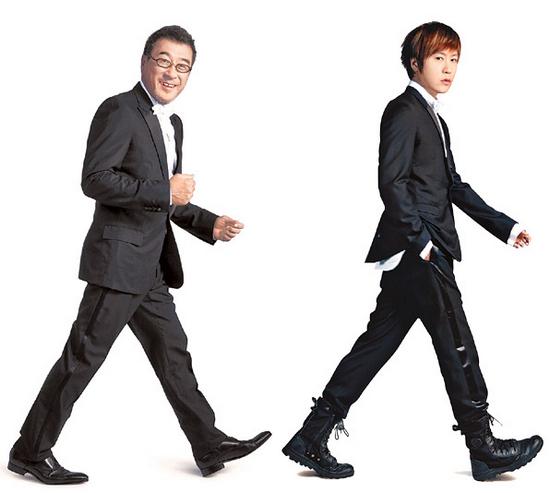 """李宗盛、阿信等台湾名人被《GQ》台湾评为""""2012风格男人""""。图自《GQ》"""