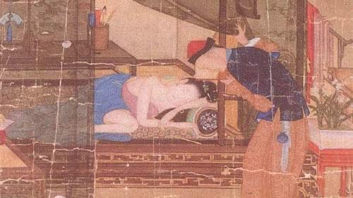 古代房中术包括许多性爱姿势