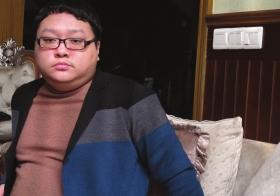 文伽昊,重庆打黑1号大案主角文强的儿子,父亲被抓后他也曾被羁押10个月左右。图/记者倪志刚