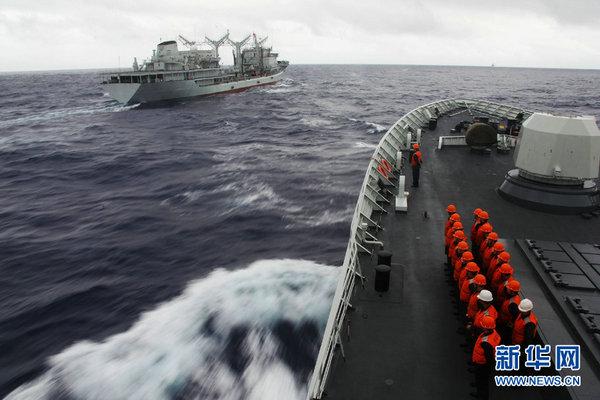 中国航母编队阵容堪称梦幻 但规模并不大