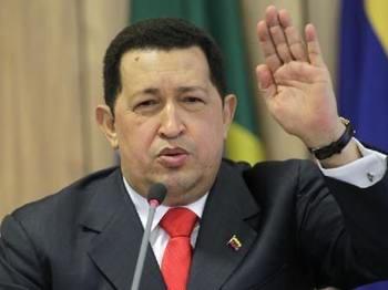委内瑞拉总统查韦斯资料图
