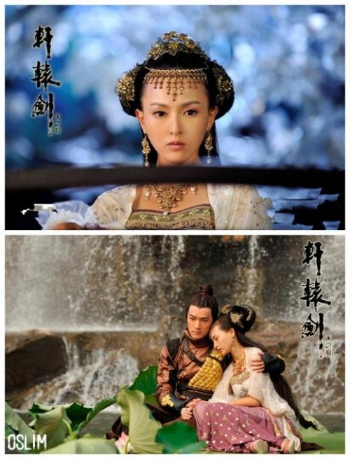 胡歌/刘诗诗唐嫣古力娜扎杨幂盘点与胡歌搭档最合拍的女星/图...