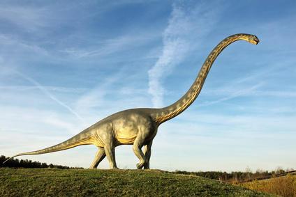 艺术家作品中的长颈蜥脚类恐龙