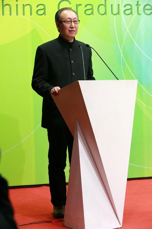 中国服装设计师协会主席李当岐先生讲话