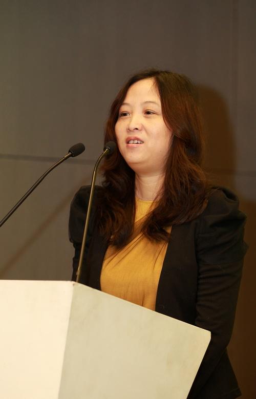 杭州宏华数码科技股份有限公司副总经理李莉女士讲话