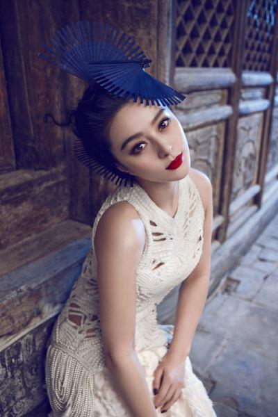 范冰冰杂志封面照美妆秒杀超模