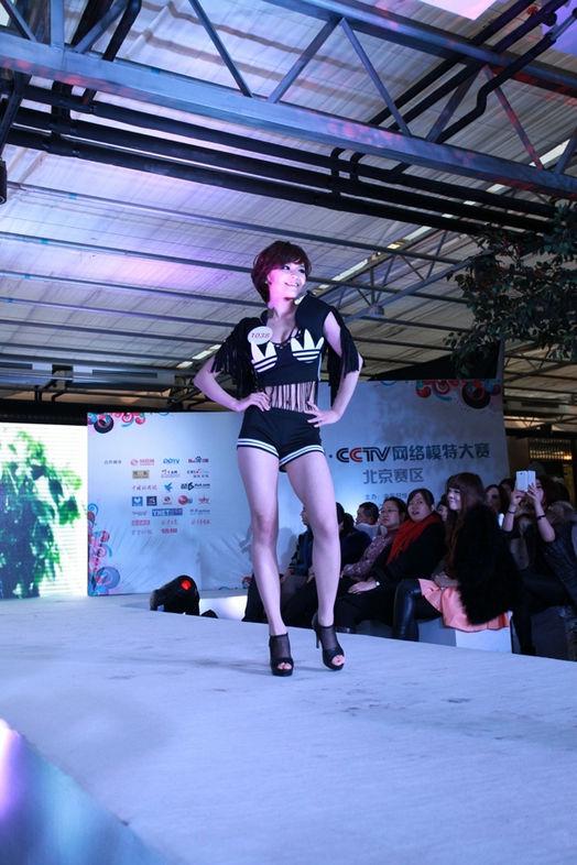 北京分赛区现场获奖模特比赛照片