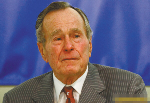 美国前总统老布什