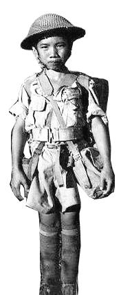 :抗战时期的中国童子军。
