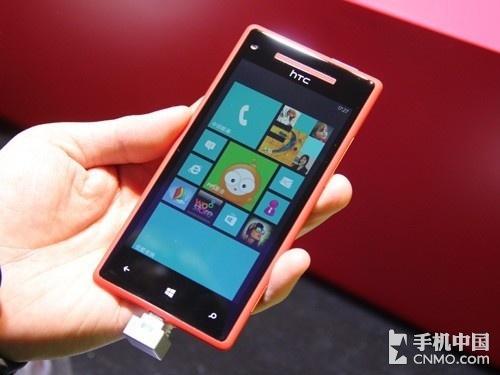 双核高清屏WP旗舰 HTC 8X行货上市在即