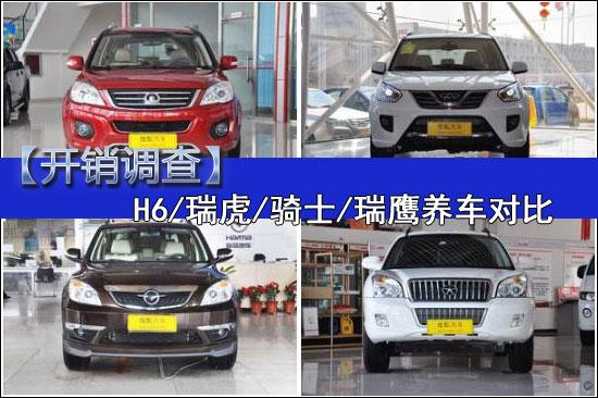 【开销调查】H6/瑞虎/骑士/瑞鹰养车对比