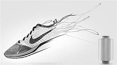 耐克飞织跑鞋