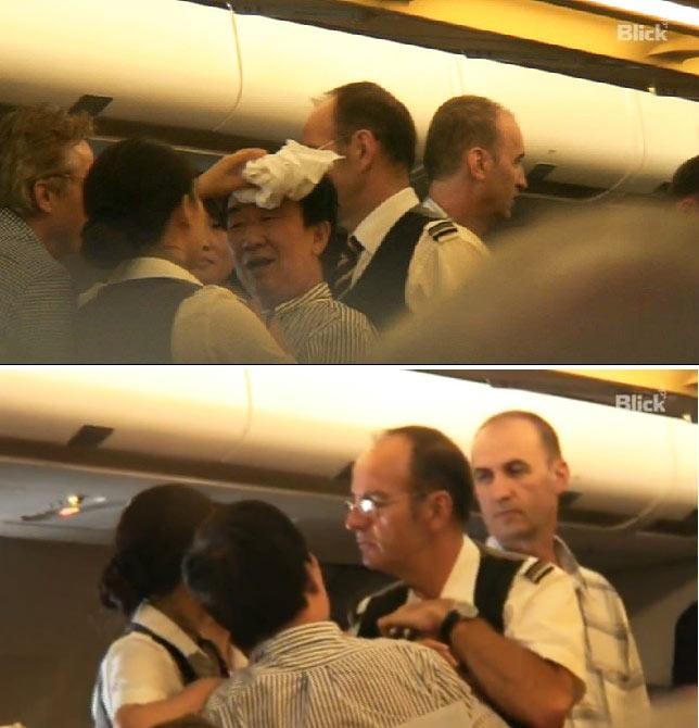 瑞士一架飞机因中国乘客斗殴返航