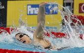 图文:短池世锦赛第三日赛况 萨顿挥臂划水