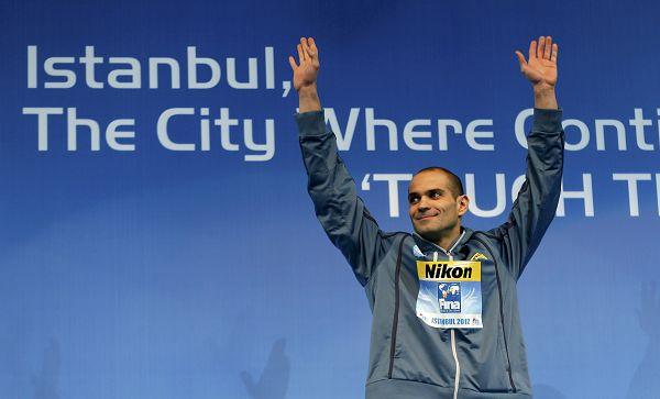 凌晨,第11届世界短池游泳锦标赛在土耳其城市伊斯坦布尔成功落下
