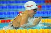 图文:游泳短池世锦赛 彼得森在比赛中