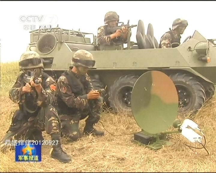 资料图:解放军特种部队装备新型全地形突击车 -驻藏部队列装新型全