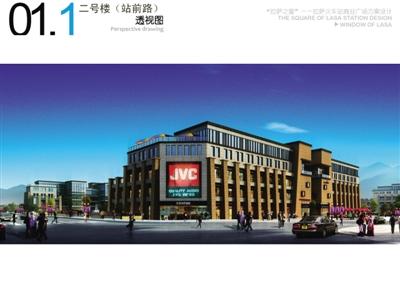 二层商业楼效果图,二层商业钢构楼效果图,三层商业楼效果图,高清图片