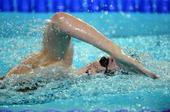 图文:短池世锦赛赛况 施密特200米自比赛瞬间