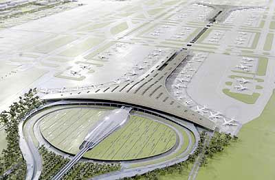 首都国际机场3号航站楼(中国北京)