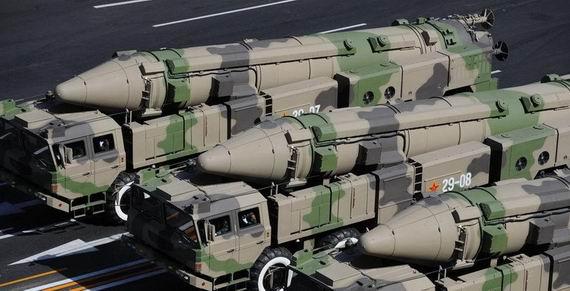 俄上将警告美勿低估中国核武 中国或拥有1800枚核弹(图)