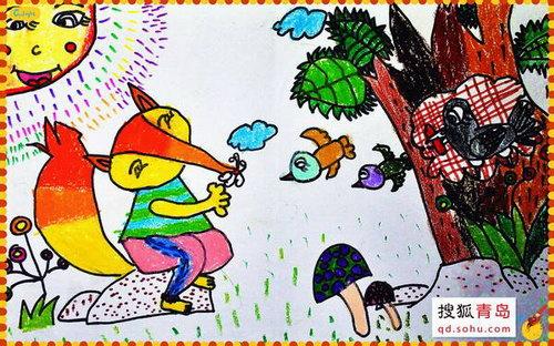 青岛自闭症儿童将办画展 图