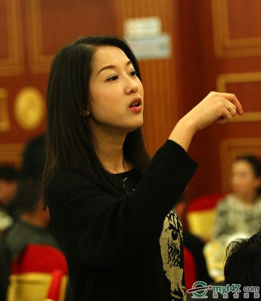 图文:中式台球锦标赛开幕