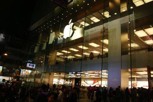 苹果香港_探访苹果香港第三店:现货iphone 5价格低近千元