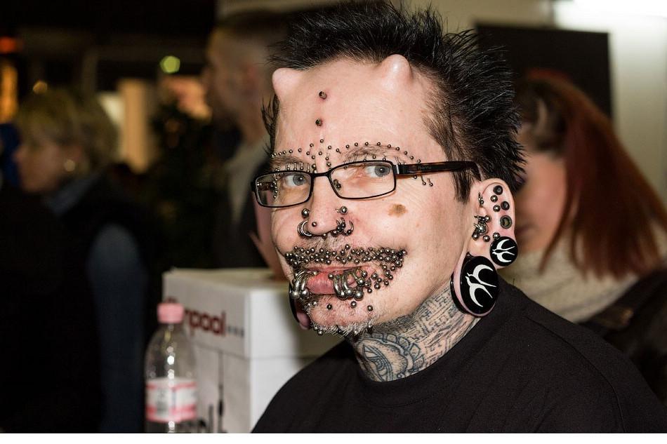 2012德国柏林刺青纹身大会【高清组图】