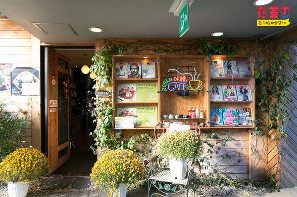 """最悠闲静谧的咖啡店——仁寺洞""""书页之间"""""""