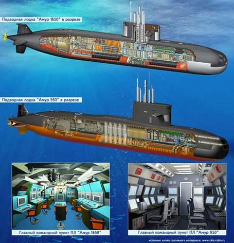 """阿穆尔级潜艇_俄媒称俄中签署共建4艘""""阿穆尔""""级潜艇合同-搜狐军事频道"""