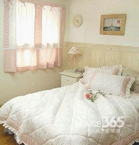 子效果�_田园风格卧室效果图:可爱主调的田园卧室设计,适合作为女孩子的闺房