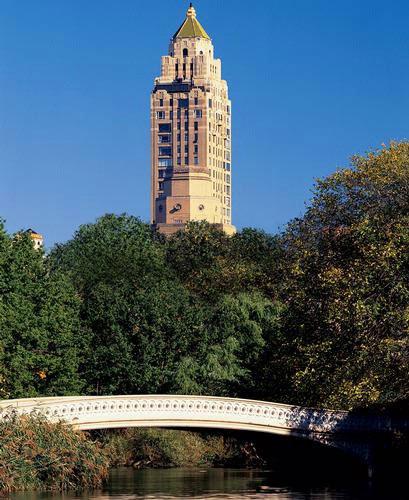 俯瞰中央公园无敌美景