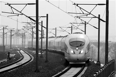 昨日,从北京西站出发,经过两个半小时的行驶,11时30分,列车驶入郑州东站。