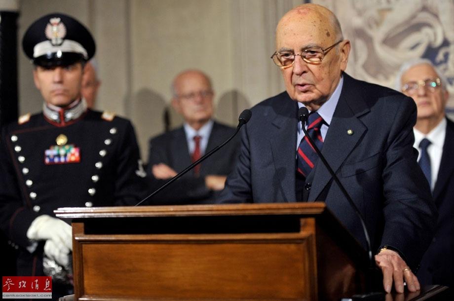 意大利总统宣布解散议会(组图)
