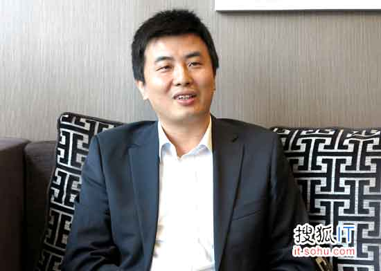 中兴通讯副总裁刘金龙接受搜狐IT专访
