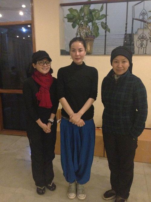 台湾艺人王彩桦印度游巧遇王菲。