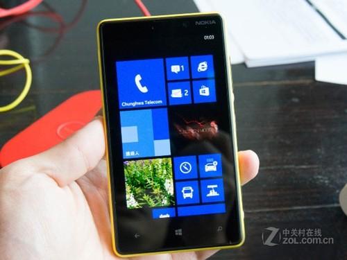 火热人气WP8智能 诺基亚Lumia 820到货