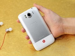 HTC Sensation XL 白色 背面图