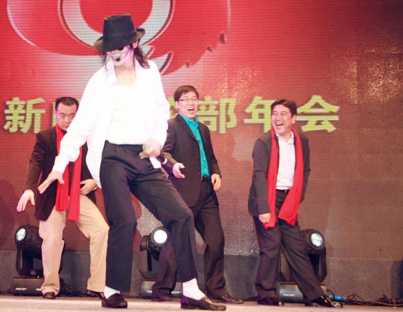 亚洲杰克逊模仿第一人王杰杰克逊(wangjackson)在众多场合...
