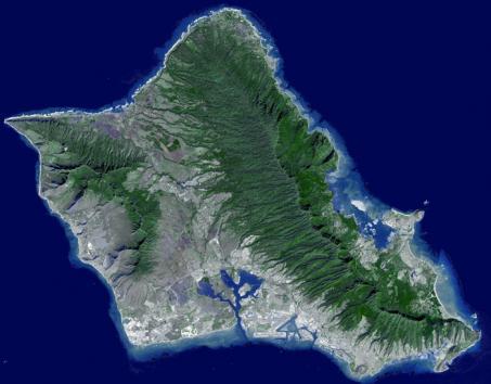 地质学家发现,由于地下水的锐减,夏威夷岛正从内部开始瓦解