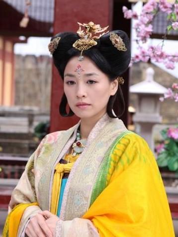 张庭在电视剧《美人天下》中饰演武则天图片